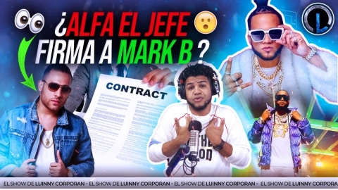 """EL ALFA """"EL JEFE"""" FIRMA A MARK B PARA SALVAR..."""