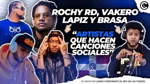 """ROCHY RD """"POLICÍA NO ME MATES"""" LO HIZO LAPIZ CONCIENTE, VAKERO Y..."""