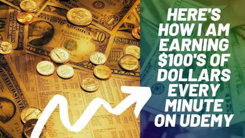 Here's how I am earning $100's of Dollars every minute on Udemy: Super Viral Record Proof: Srinidhi