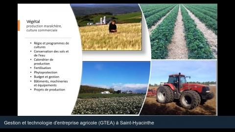 DEC   Gestion et technologies d'entreprise agricole