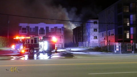 Repentigny: Dozen buildings torched to the ground...