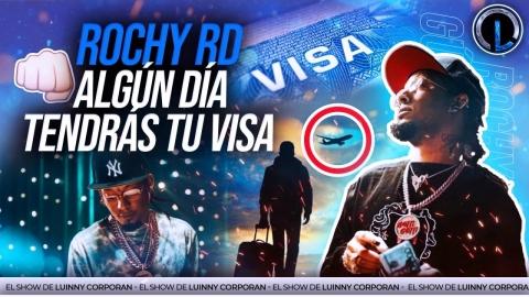 ROCHY RD CON VISA AMERICANA EN ALGÚN MOMENTO. LUINNY SALE EN DEFENSA...