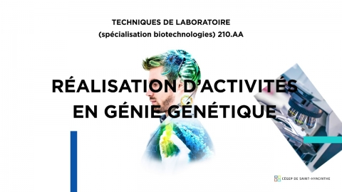 DEC   Techniques de laboratoire - Biotechnologies