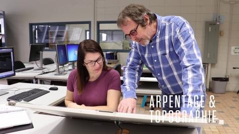 DEP | Arpentage topographie