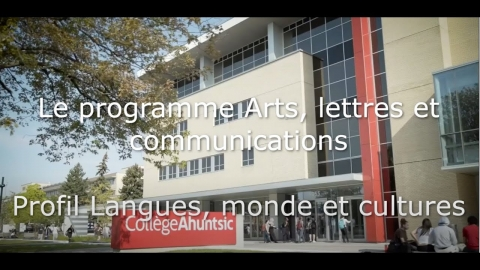 DEC | Arts, lettres et communication - Langues, monde et culture