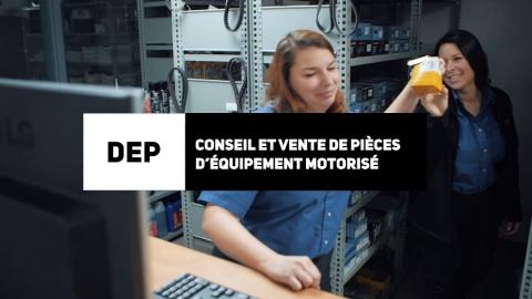 DEP | Conseil et vente de pièces d'équipement motorisé