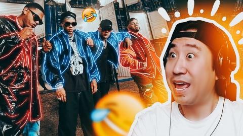 Coreano reacciona a Fiel Remix 😂 Wisin, Jhay...
