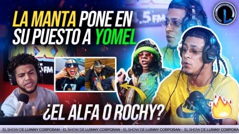 """LA MANTA PONDRÁ A GRABAR AL ALFA Y ROCHY RD """"EH MENTIRA REMIX""""..."""