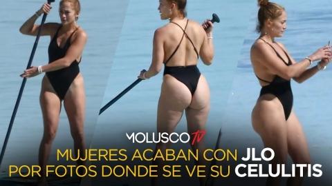 Mujeres atacan a JLO por fotos donde se le ve con celulitis 😳🤷🏻♂️