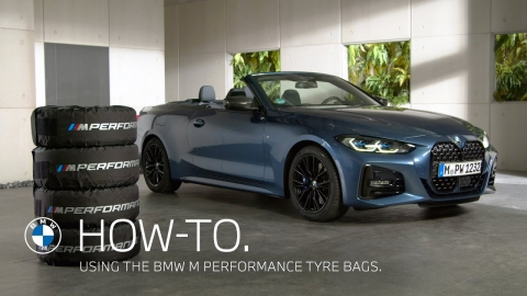 Using the BMW M Performance Tyre Bags – BMW How-To