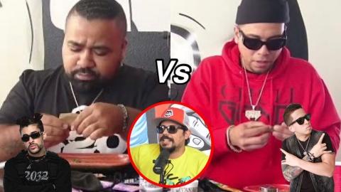 Competencia de Enrolar: El Chucheto vs DJ DiegoMasacre