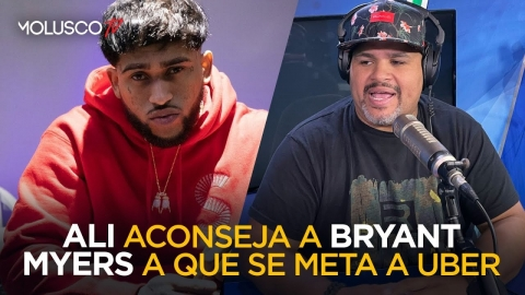ALI ACONSEJA A BRYANT MYERS A QUE SE META A HACER UBER 🤦🏻♂️