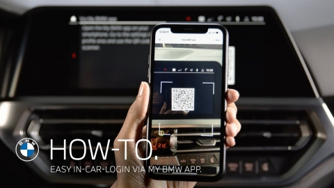Using Easy In-Car Login via My BMW App – BMW How-To
