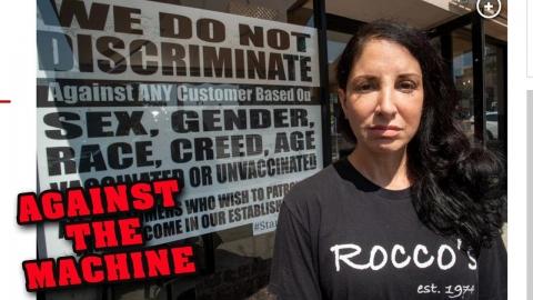 ONE Brave Restaurant Owner Stands Against New York's Mandates!