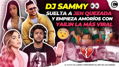 DJ SAMMY SE DESAHOGA Y PUBLICA CONVERSACIONES DE EX JEN QUEZADA....