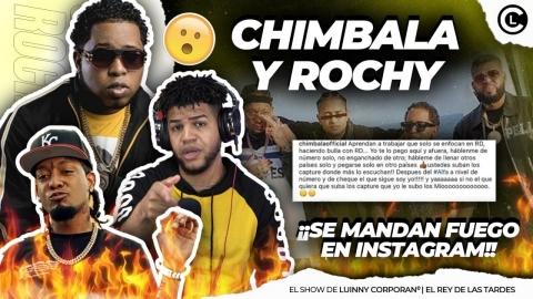 ROCHY RD Y CHIMBALA COMIENZAN A TIRARSE PUYAS POR NOMINACIÓN A...