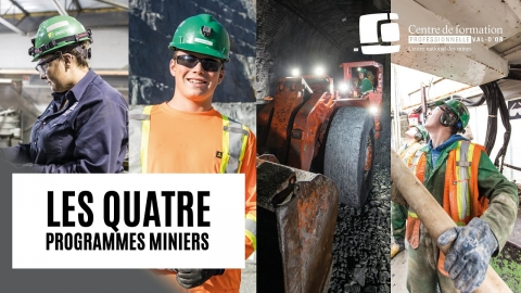 Le domaine minier t'intéresse? Voici nos 4 DEP miniers!