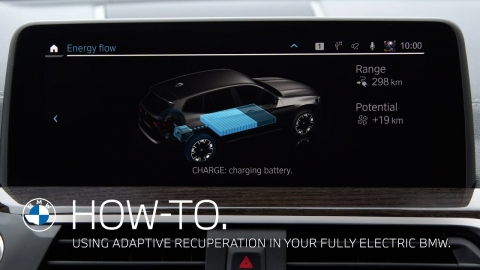Using Adaptive Recuperation in your fully electric BMW – BMW How-To