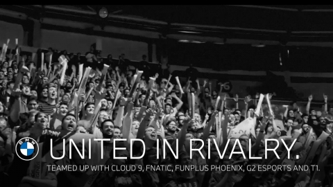 We are all #UnitedInRivalry. Teamed up with Cloud 9, Fnatic, Funplus...