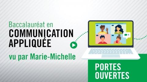Baccalauréat en communication appliquée