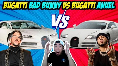La diferencia entre el Bugatti de Anuel y Bad Bunny 😂🤣