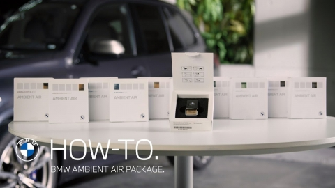 Clean and perfume the interior with a BMW Ambient Air Package |  BMW...