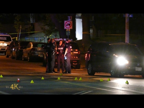 Flemingdon Park: One out of three people shot...
