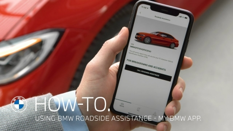 Requesting BMW Roadside Assistance with the My BMW App - How To