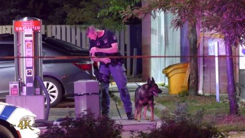 Mississauga: Saturday night violent fight at Mavis Road gas station...
