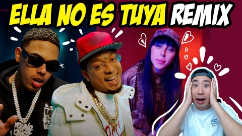 REACCIONANDO A ELLA NO ES TUYA REMIX 🔥 Rochy RD x Myke Towers x Nicki Nicole