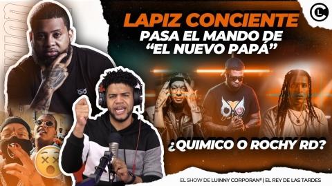 """LAPIZ CONCIENTE PASA LA BATUTA DE """"EL NUEVO PAPÁ"""" ¿ROCHY RD O..."""