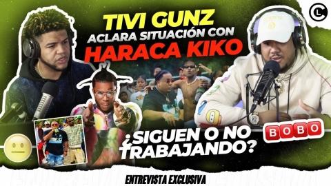 TIVI GUNZ ROMPE EL SILENCIO SITUACION CON HARACA KIKO Y EL CONTRATO...