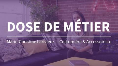 Dose de métier | Costumière / Accessoiriste