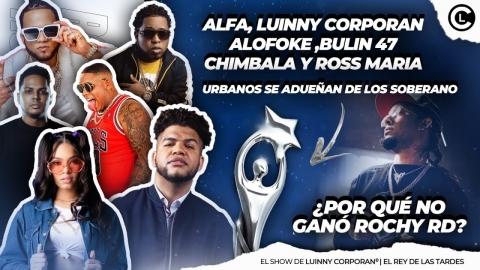 EL ALFA, LUINNY, ALOFOKE, BULIN 47, ROSS MARIA, CHIMBALA BRILLAN EN...