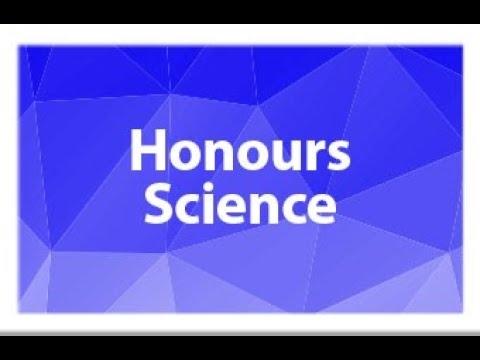 Honours Science Program