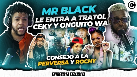 MR BLACK QUEMA FEO AL TRATOL RD. SE CURA CON ONGUITO Y CEKY VICINY....