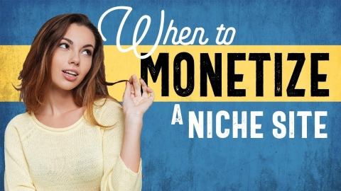 When to Start Monetizing a Website