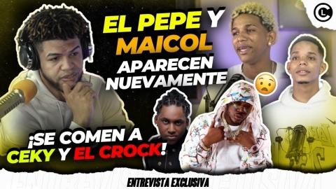 EL PEPE Y MAICOL LLENOS DE ODIO Y QUEMAN FEO A CEKY Y EL CROK...