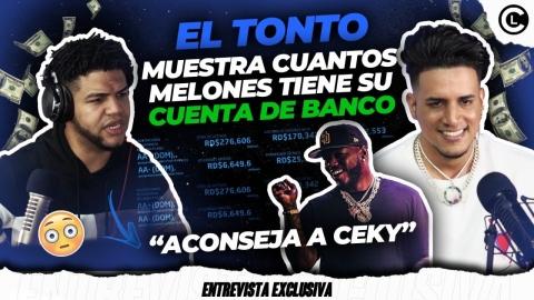 EL TONTO SE KILLA FEO EN PLENA ENTREVISTA Y MUESTRA CUENTA DE BANCO....