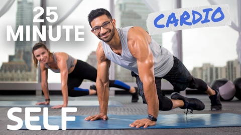 25 Minute Full Body Cardio Workout - No Equipment...
