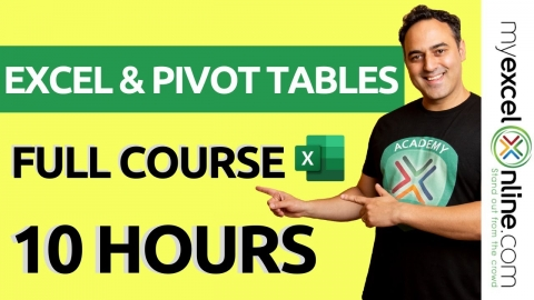 Pivot Tables Excel Tutorial - Microsoft Excel For...