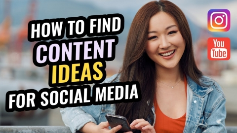 How To Find Endless Content Ideas For Your Social Media Real Fast!