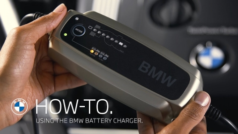 Using the BMW Accessory Battery Charger - How To