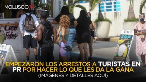 Primeros arrestos a TURISTAS en PR por vandalismo y violencia en las calles 🤦🏻♂️