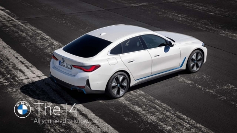 The all-new BMW i4. All you need to know.