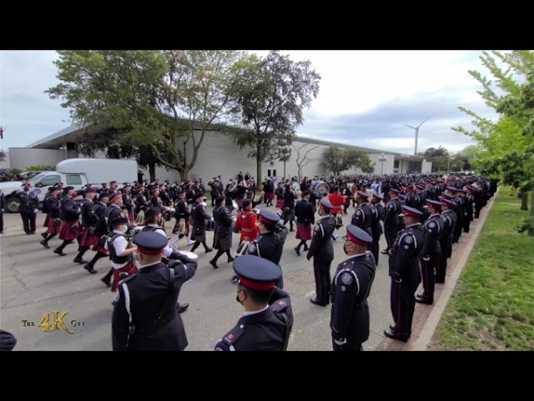 Toronto: Highest honors paid to fallen police officer Jeffrey Northrup 7-12-2021
