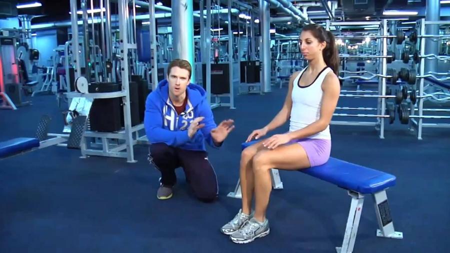 Beginner women's fitness program